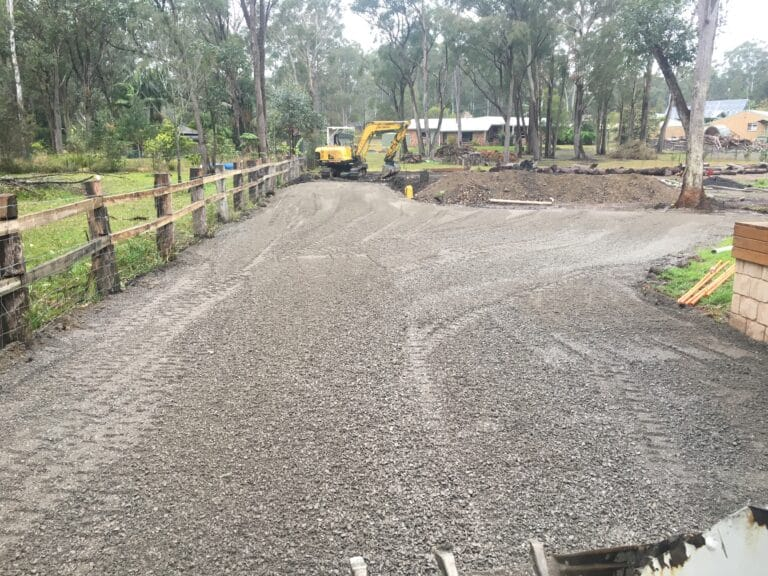 Block Cut and Driveway - Earthmoving Newcastle - Blackrock Earthmoving & Haulage