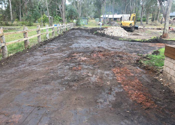 Block Cut and Driveway - Earthmoving Newcastle - Blackrock Earthmoving & Haulage