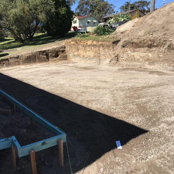 Final trim - Earthmoving Newcastle - Blackrock Earthmoving & Haulage